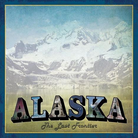 Alaska Vintage 12x12 Scrapbooking Paper