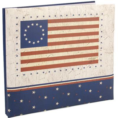 American Flag 12x12 Scrapbooking Album