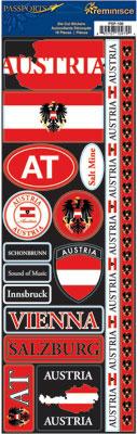Austria Cardstock Scrapbooking Stickers and Borders