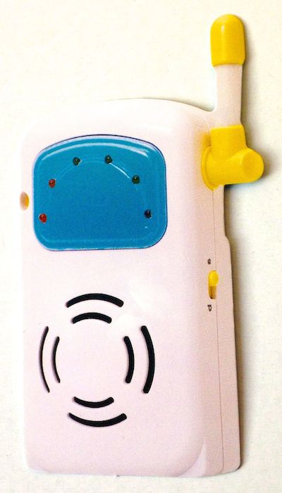 Baby Walkie Talkie Scrapbooking Die Cut