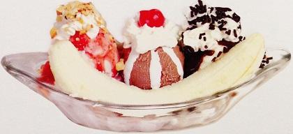 Ice Cream Sundae Scrapbooking Die Cut