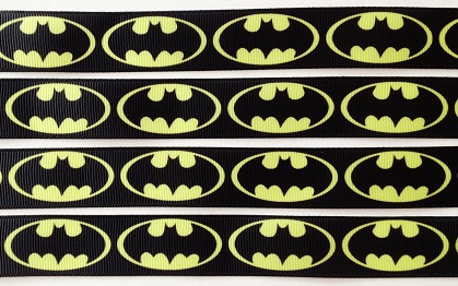 Batman Self Adhesive Scrapbooking Ribbon
