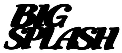 Big Splash Scrapbooking Laser Cut Title