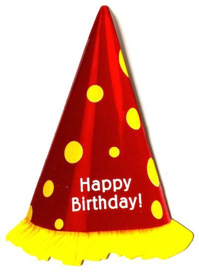Birthday Hat Scrapbooking Die Cut