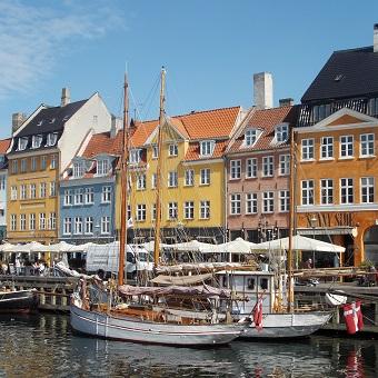 Nyhavn Copenhagen 12x12 Scrapbooking Paper