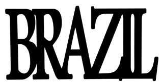 Brazil Scrapbooking Laser Cut Title