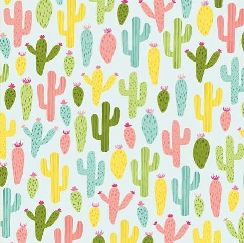 Cactus 12x12 Scrapbooking Paper