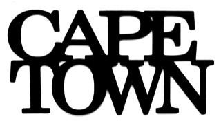 Cape Town Scrapbooking Laser Cut Title