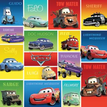 Cars 12x12 Scrapbooking Paper