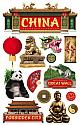 China 3D Scrapbooking Stickers