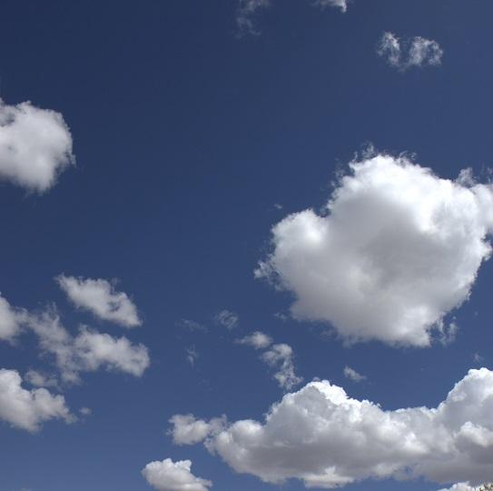 Clouds 12x12 Scrapbooking Paper