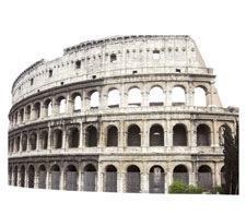 Colosseum Scrapbooking Die Cut