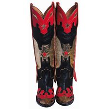 Cowboy Boots Scrapbooking Die Cut
