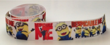 Despicable Me Minions Self Adhesive Scrapbooking Ribbon