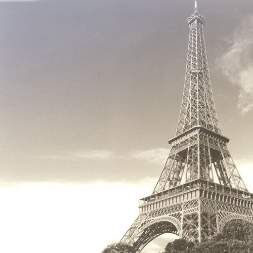 Eiffel Tower 12x12 Scrapbooking Paper