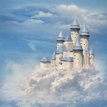Fairytale Castle 12x12 Scrapbooking Paper