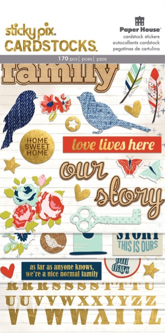 Family Scrapbooking Sticker Multi Pack