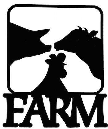 Farm Scrapbooking Laser Cut Title With Animals