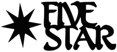 Five Star Scrapbooking Laser Cut Title With Star