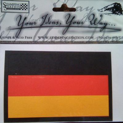 Germany Layered Scrapbooking Flag