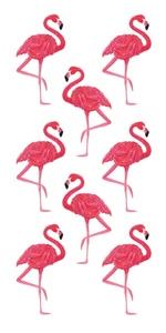 Flamingo Scrapbooking Mini Stickers