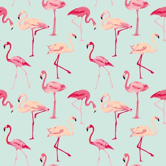 Flamingos 12x12 Scrapbooking Paper