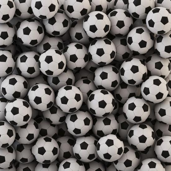 Footballs 12x12 Scrapbooking Paper