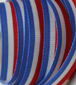 France Flag Self Adhesive Scrapbooking Ribbon