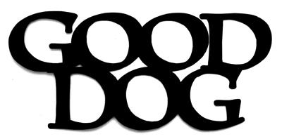 Good Dog Scrapbooking Laser Cut Title