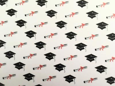 Graduation Scrapbooking Paper