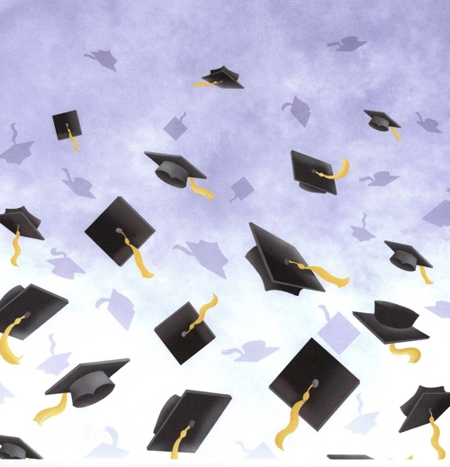 Graduation 12x12 Scrapbooking Paper