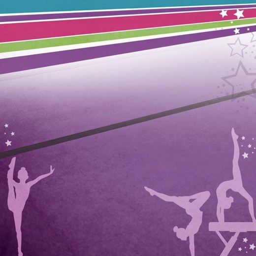 Gym Silhouettes 12x12 Scrapbooking Paper