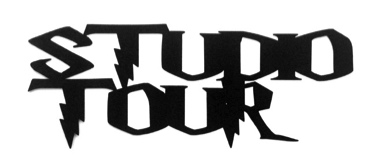 Studio Tour Scrapbooking Laser Cut Title