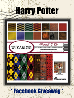 Harry Potter Scrapbooking Competition