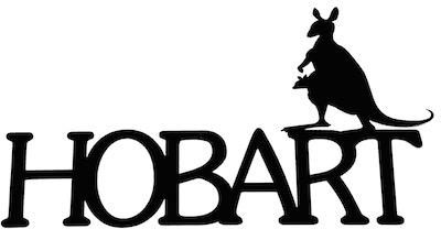 Hobart Scrapbooking Laser Cut Title with Kangaroo