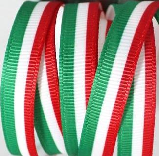 Italy Flag Self Adhesive Scrapbooking Ribbon