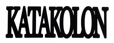 Katakolon Scrapbooking Laser Cut Title