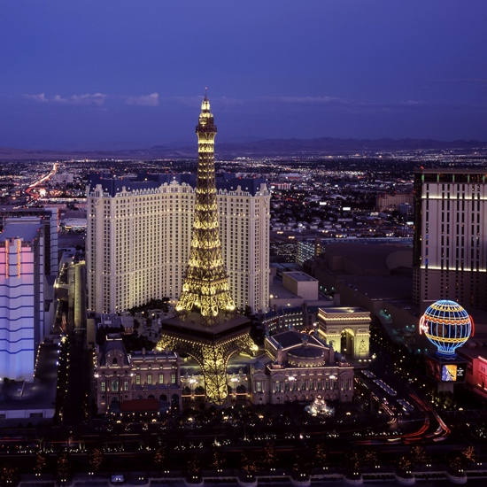 Vegas by Night 12x12 Scrapbooking Paper