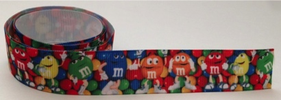 M and Ms Self Adhesive Scrapbooking Ribbon