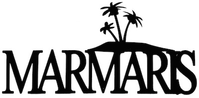 Marmaris Scrapbooking Laser Cut Title With Palm Trees