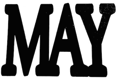 May Scrapbooking Laser Cut Title