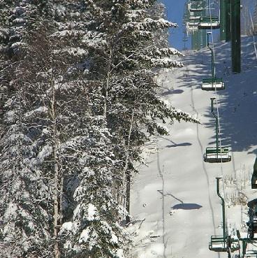 Ski Chair Lift 12x12 Scrapbooking Paper