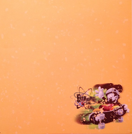 Mickey Extreme 360 12x12 Scrapbooking Paper