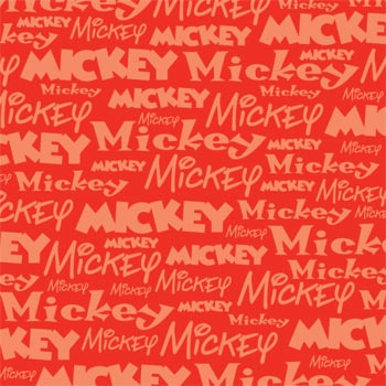 mickey mouse paper