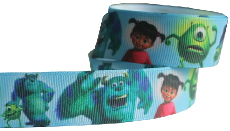 Monsters Inc Self Adhesive Scrapbooking Ribbon