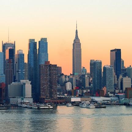 New York Skyline 12x12 Scrapbooking Paper