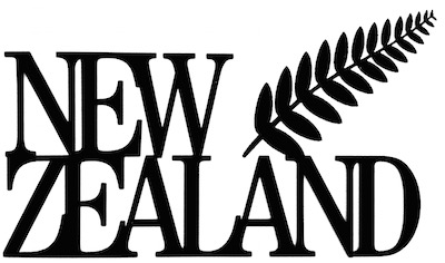 New Zealand Scrapbooking Laser Cut Title with Leaf