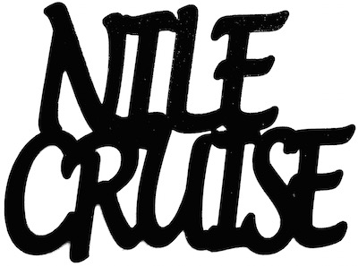 Nile Cruise  Scrapbooking Laser Cut Title