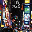 Northeast Times Square 12x12 Scrapbooking Paper