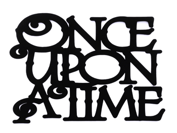 Once Upon a Time Scrapbooking Laser Cut Title